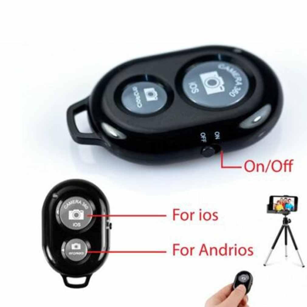 سماعة لاسلكية تعمل بالبلوتوث هاتف ذكي كاميرا مغلاق لجهاز التحكم عن بعد ل Selfie عصا Monopod الموقت الذاتي الموقت التحكم عن بعد