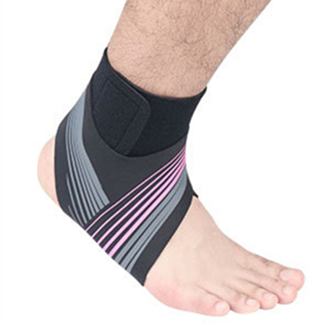 Adjustable Elastic Ankle Sleeve High Elastic Ankle Brace Guard Foot Support Sports Belt Sweat Absorb 3