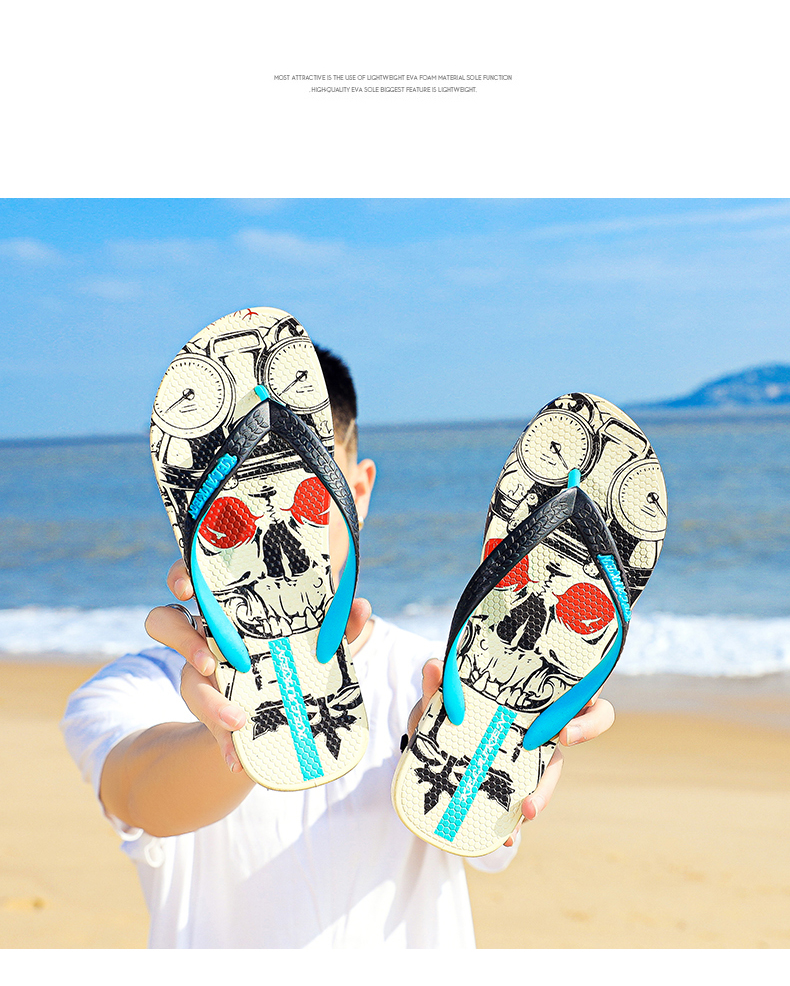 H928c94d7550b4a8a88ae20426d1f539e7 - VESONAL Summer Graffiti Print Slippers Men Shoes Flip Flops Slipers Male Hip Hop Street Beach Slipers Casual Flip-flops