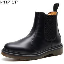 Boots Men Shoes Classic Ankle Vintage Male Autumn Winter Genuine-Leather Casual
