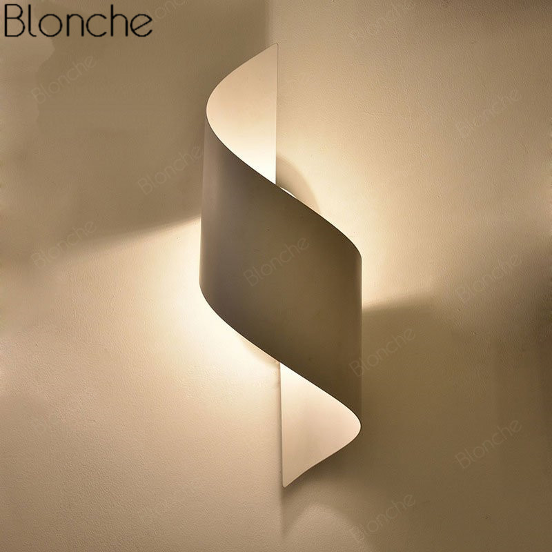 Modern Wall Lamp Led Mirror Sconce For Home Lighting Decoration Luminaire Bedroom Bedside Lamp Indoor Stair Wall Light Fixtures