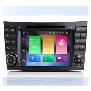 DSP 4G 64G 2 din Android 10 Car DVD Multimedia For Mercedes Benz E-class W211 E200 E220 E300 E350 E240 E270 CLS CLASS W219 Radio image
