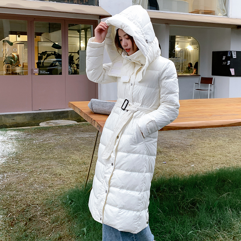 Winter Female Jacket Thick Warm 90% Duck Down Coat Women Long Down Parka Hooded Clothes 2019 Women's Down Jacket LW1718