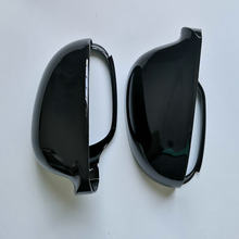 Black Side Wing Mirror Cover Caps Voor Volkswagen Golf MK5 Gti Jetta 5 Passat B6 B5.5 Sharan Golf Plus Variant eos 2005 2006 2007(China)