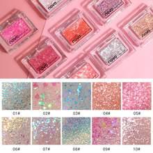 10 cores nude glitter sombra matte shimmer novo durável à prova dwaterproof água corretivo mineral sombra de olho paleta maquiagem cosméticos