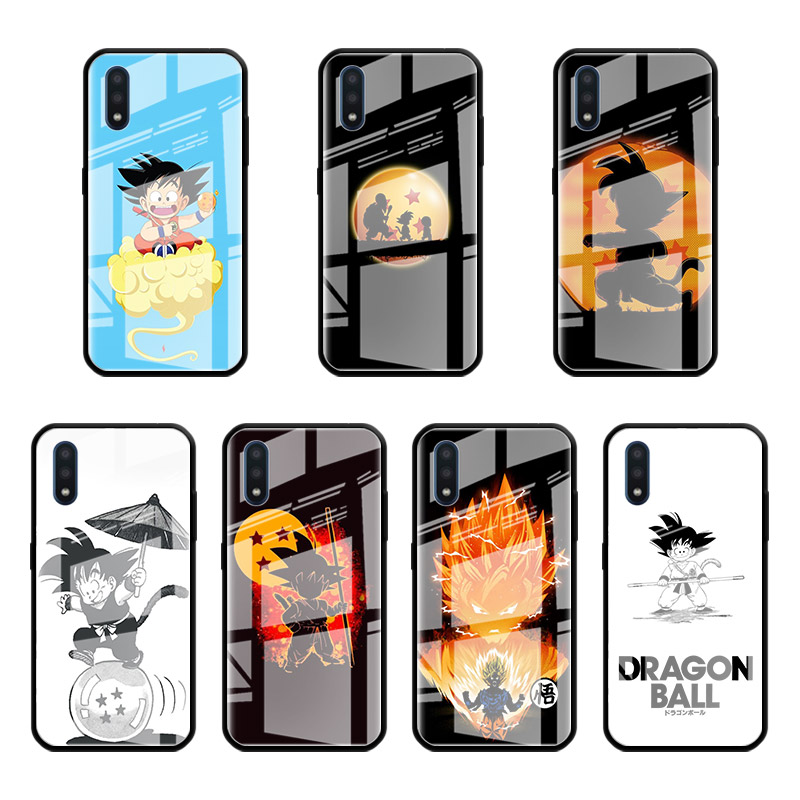 Dragon Ball z Goku <font><b>Glass</b></font> <font><b>Case</b></font> For <font><b>Samsung</b></font> Galaxy A70 <font><b>A50</b></font> A51 M51 A20 A10 A11 A31 A71 M31 M21 Stalinite Phone Covers image