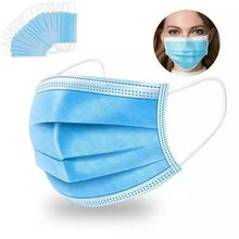 50 pcs Surgical mask Fast shipping Face Mouth Masks Non Woven Disposable Medical Anti-Dust Surgical Medical Masks