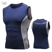 Быстросохнущие мужские майки для бега без рукавов для спортзала, Рашгард, футболки для фитнеса, бодибилдинга, дышащие рубашки, мужские тренировочные майки