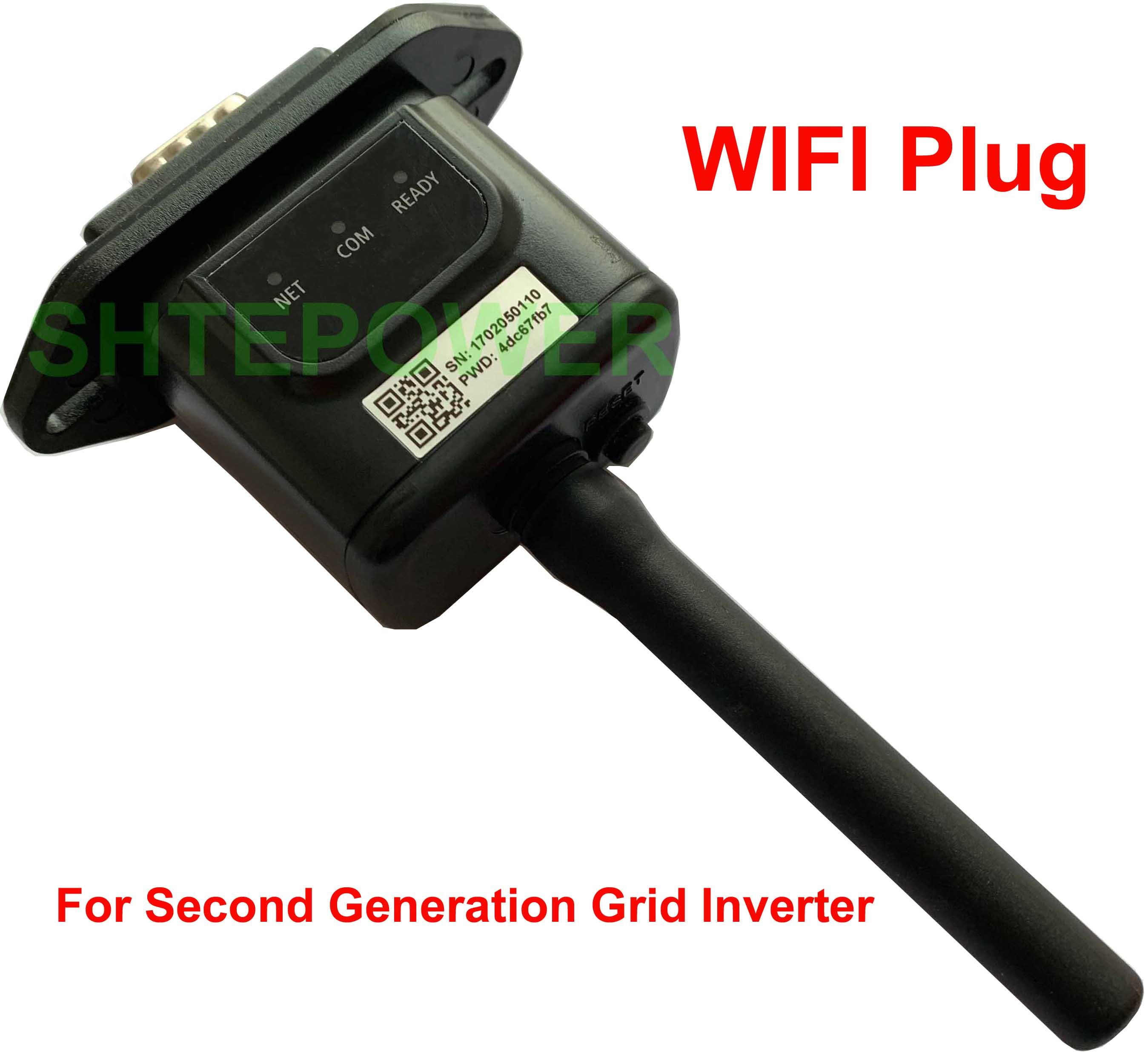 Wifi Port Plug Limiter sensor for MPPT 1000W2000W NEW SUN Solar Grid Tie Inverter RS485 connected Web/Phone App online Monitor