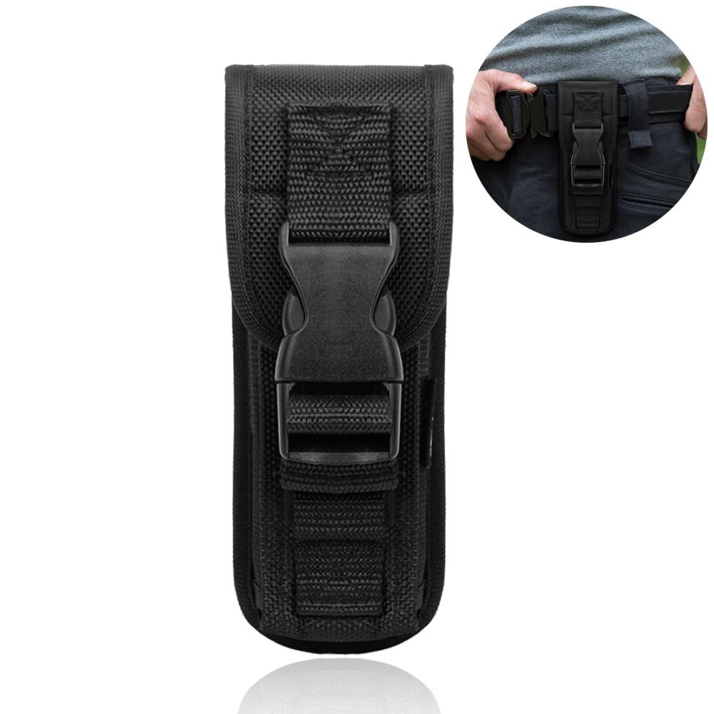 Belt Case Outdoor Tool Accessories Flashlight Torch Bag Holster Holder Pouch