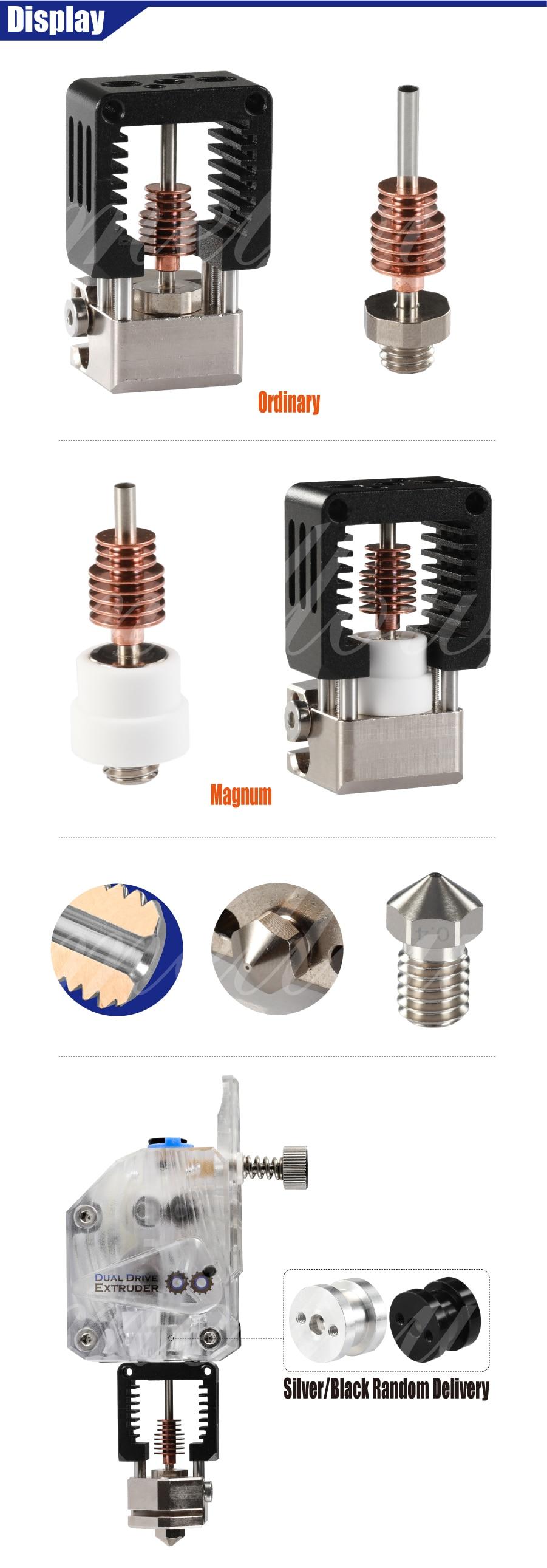 Новейший мягкий металлический NF-Crazy Hotend V6 медный сопло для Ender 3 CR10 Prusa I3 MK3S экструдер экструдер для 3д принтера