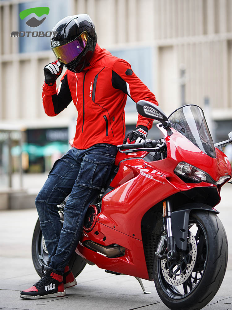2021 Motoboy אופנוע רכיבה בד ללבוש קיץ גברים של לנשימה אנטי סתיו אופנוע ללבוש פנאי אביר ללבוש רכיבה ציוד