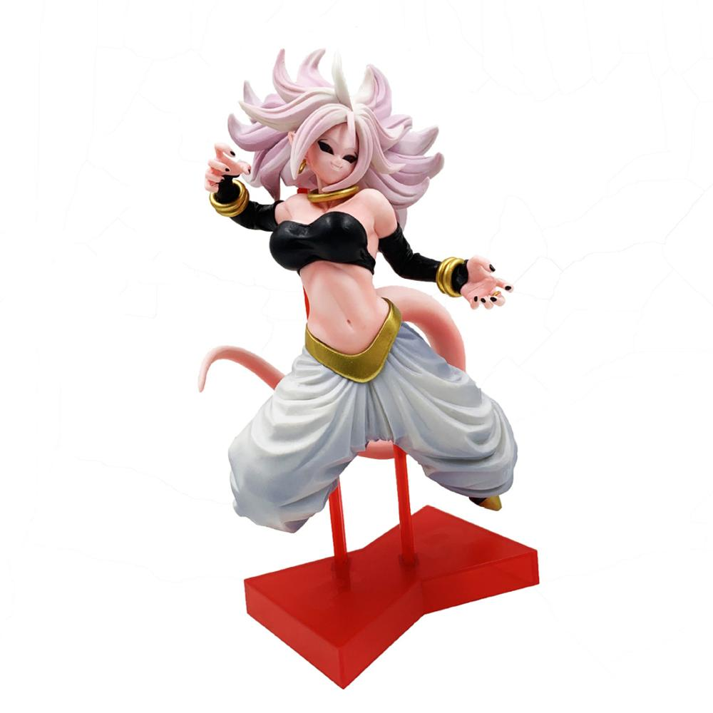 Anime <font><b>Dragon</b></font> <font><b>Ball</b></font> Z Gals Android NO 21 Majin Buu Lady Ver. <font><b>Sexy</b></font> PVC <font><b>Action</b></font> <font><b>Figure</b></font> Collectible Model Toys Doll Gift 22CM image