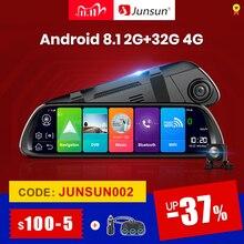 """Junsun A960 Android 8.1 ADAS 2G + 32G 10 """"strumieniowa kamera na deskę rozdzielczą kamera wideorejestrator samochodowy dvr dashcam nawigacja GPS 1080P WIFI"""