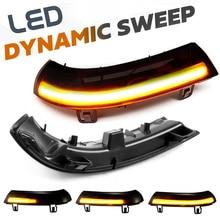 2x dynamiczne kierunkowskazy LED tylny kierunkowskaz w lusterku migacz Repeater dla VW GOLF 5 MK5 Passat B5.5 B6 Jetta 5 EOS Sharan