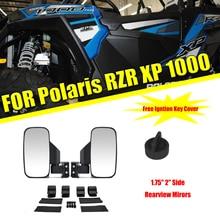 """KEMiMOTO 1,7"""" 2"""" зеркало utv боковые зеркала заднего вида для Polaris RZR PRO XP 800 900 1000 Ranger для Can Am гоночный автомобиль зеркало"""