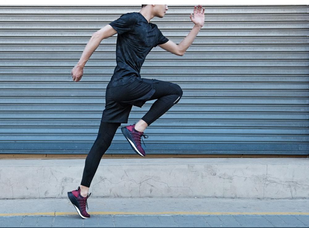 Baskets d'origine Xiaomi Mijia 3 Sports de plein air pour hommes système de verrouillage 3D en os de poisson à tricoter chaussures de course pour hommes - 6