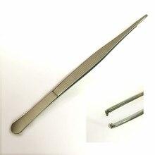 Tweezers Forceps-Hook Tissue Medical-Dressing Heat-Resistant Stainless-Steel Organization