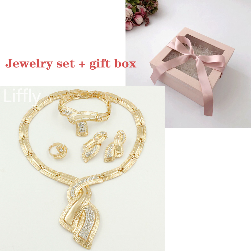 jewelry sets and box