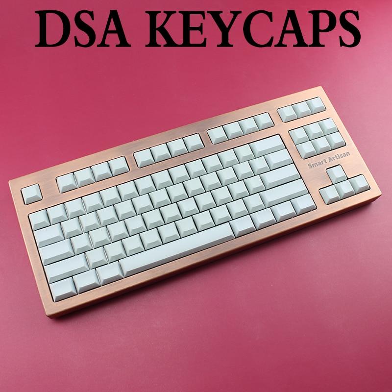 שנאים וספקי כוח אור לבן אפור DSA keycaps ANSI ISO שרי Mx PBT ריק עבור מקלדת מכנית Xd64 Xd60 Xd68 Xd84 Xd96 פלאנק 87 104 (1)
