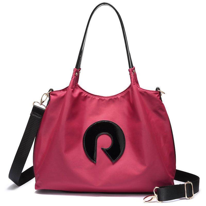 REALER Women Handbags Oxford Messenger Shoulder Bag Female Cross-body Bags For Ladies Totes Top-Handle Large Capacity Wide Strap