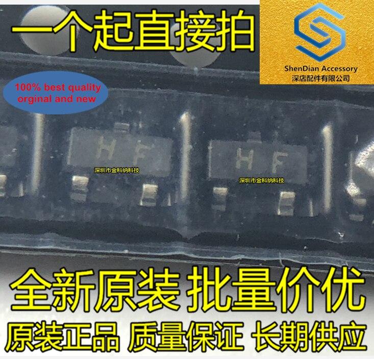 100pcs 100% Orginal New SMD Triode 2SC1815 C1815 Silkscreen HF SOT-23 0.15A- 50V NPN Transistor Real Photo