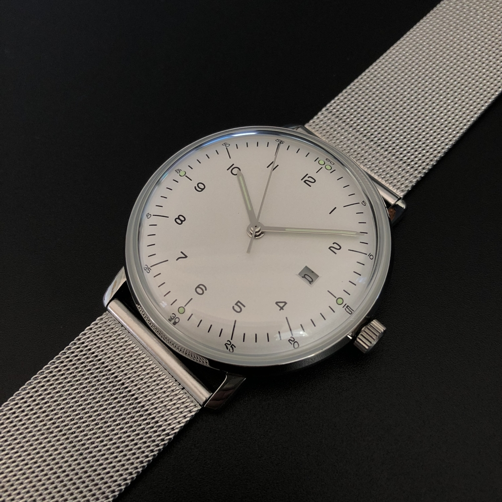 Steeldive 8102 New Arrival Watch 2020 Hot Sale Mens Quartz Watches 50m Waterproof Leather Watches For Men Quartz C3 Luminous(China)