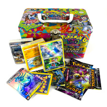 Takara Tomy Pokemon Card Metal Box Table Game MEGA Trainer Energy Collections Board Cards Battle Toys 153cards for Kids