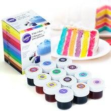 Wilton 12-farbe natürliche lebensmittel färbung set gel-basis lebensmittel zusatzstoffe backen zutaten fondant kuchen macaron färbung werkzeug