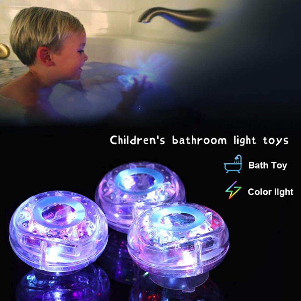 Glow Babys LED Toys Swimming Floating Bulb Lamp Pool Child Light Show For Bath Underwater