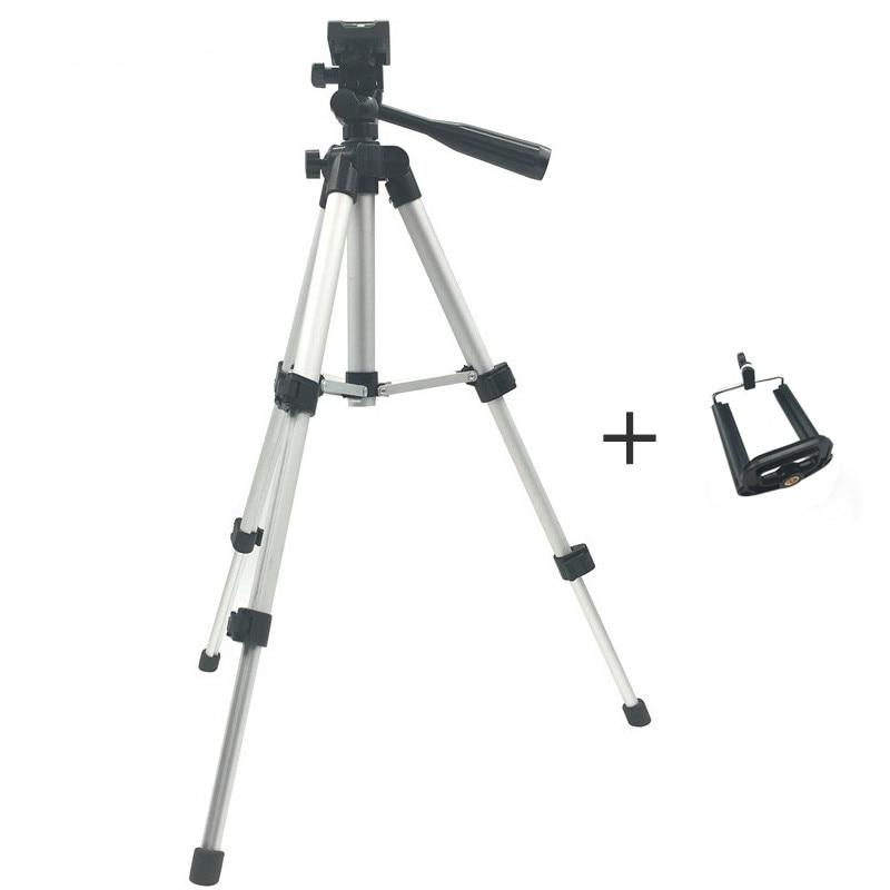 Professional Foldable Camera Tripod Holder Stand Screw 360 Degree Fluid Head Tripod Stabilizer Aluminum tripod for camera