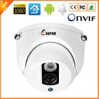 Keeper 1080P mini HD AHD Surveillance camera with Sony IMX323  Vandalproof CCTV Camera Indoor Security Dome Camera IR Cut