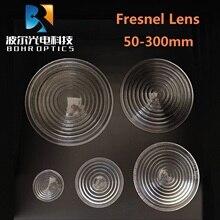 Диаметр 150 мм EFL 80 мм круглый стеклянный Точечный светильник линза Френеля для сценической лампы Лупа резьбовые линзы