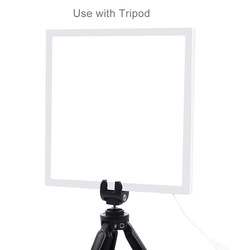 PULUZ Mini LED Photography Shadowless Light Lamp Panel Pad Acrylic Board 20x20cm NC99