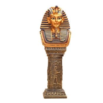 Starożytny egipt bóg faraon bóg wojny statua rzemiosło żywiczne tutanchamon Cleopatra Art rzeźba do dekoracji domu pamiątka R2917
