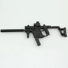 1:6 пушка в сборе, модель KRISS Vector Submachine Gun, пластиковая головоломка, модель для 1/6 солдат, военное оружие, коллекция игрушек для мальчиков