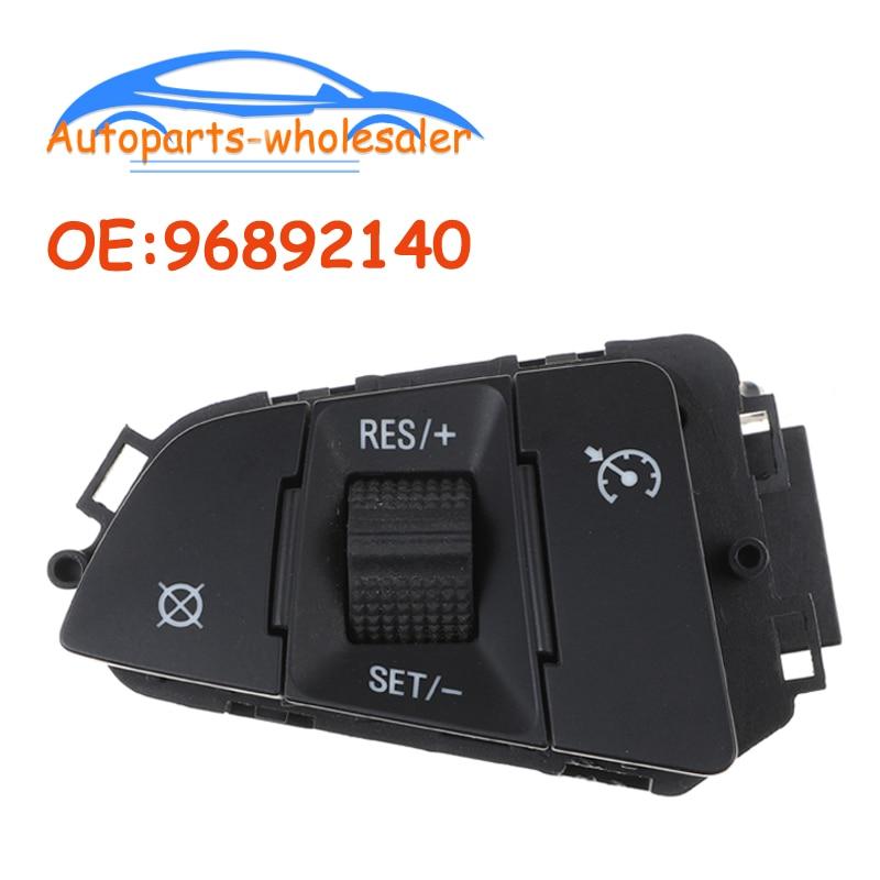 Coche para C hevrolet Cruze 2009-2014 interruptor de crucero multifunción volante interruptor 96892140 95135255 Alarma de coche de 12V, botón de arranque único, botón de arranque de motor, bloqueo RFID, interruptor de encendido, sistema antirrobo de entrada sin llave