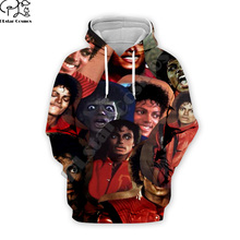 PLstar Cosmos Pop King Michael Jackson casual colorful 3DPrint Hoodie/Sweatshirt/Jacket/shirts Mens Womens hip hop Spacewalk s-9