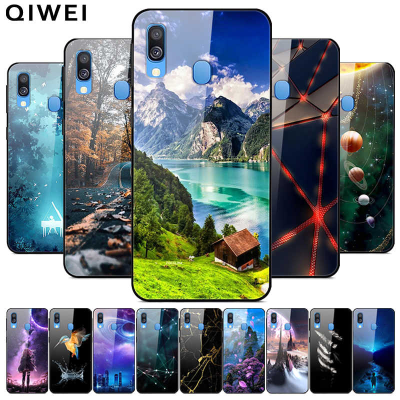 For Samsung A10S Case 2019 NEW Glass Hard Back Cover Phone Cases For Samsung Galaxy A10S Case A 10s silicon bumper funda 6.2''