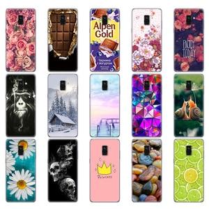 Image 4 - Capinha para samsung galaxy a8 2018 a530 a530f silicone capa de telefone para samsung a8 plus 2018 a730 a730f clara casos telefone escudo