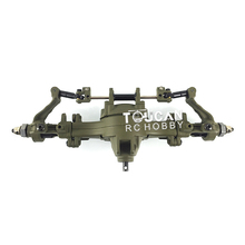 HG 1/12 RC P801 Truck Electronic Car Spare Metal Front Axle Assembly Model