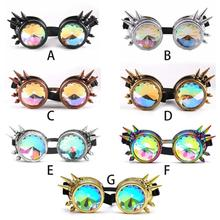 2019 Vintage Halloween Steampunk Glasses Retro Punk Gothic Cosplay Goggles Rave Fashion