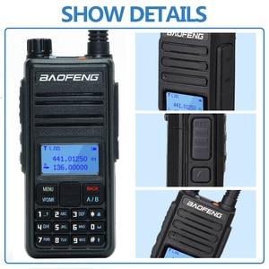 Image 5 - Baofeng DM 1801A Talkie walkie Double Créneau Horaire DMR Niveau I & II Radio Analogique Double Bande 136 174/400 470MHz Chasse DM 5R Plus