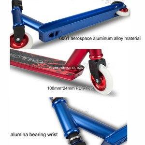Image 3 - Trotinette extremo profissional com rodas do plutônio de 100mm, trotinette de alta velocidade da ação do trotinette do dublê