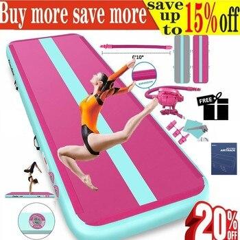 3-7 Days Fast Delivery Gymnastics Mats Inflatable Air Track Yoga Mat Olympic Gymnastics Tumble Airtrack Gymnastics Air Floor