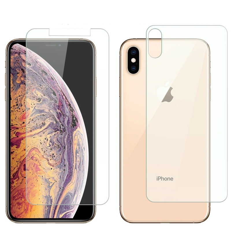 Screen-Protector iPhone X Glass XR 8-Plus tempered-Glassfor 6s-Plus XS MAX SE 5S 4S 9H