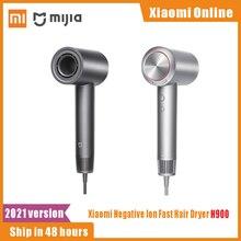 Xiaomi sèche-cheveux H900 Ion négatif séchage rapide Machine cheveux professionnel soins capillaires 1400w sèche-cheveux à séchage rapide pour la maison intelligente