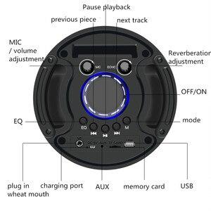 Image 3 - HYASIA Altoparlante Portatile Senza Fili Grande 30W di Potenza pesante 4500mAh Stereo sistema audio basso Bluetooth Soundbar di Sostegno FM USB TF Aux
