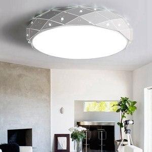 Image 5 - Yeni Modern LED tavan avizeler için avizeler oturma odası yatak odası mutfak halka avize aydınlatma Ac90 260V alüminyum fikstür