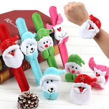 Рождественский браслет на запястье Санта-Клаус, Круглый браслет, подарок, вилка, брызги, снеговик, круг, новогодние, вечерние, рождественские украшения, noel#60